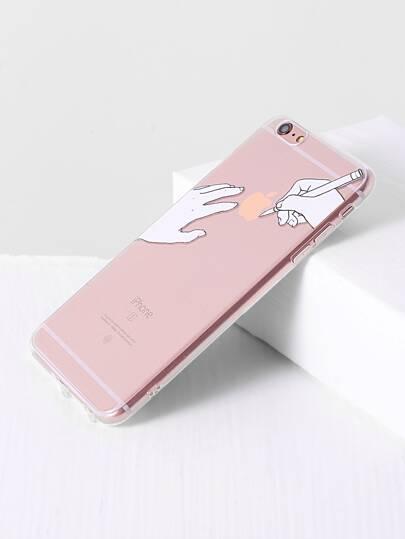 Hand Print iPhone 6plus Case