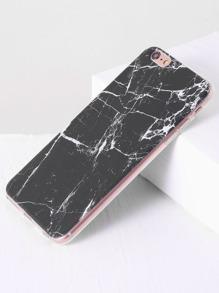 Black Marble Pattern iPhone 6plus Case