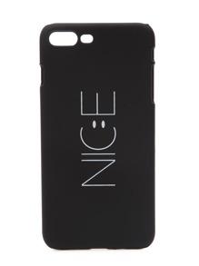 Schwarzer Buchstabe-Druck iPhone 7plus Fall