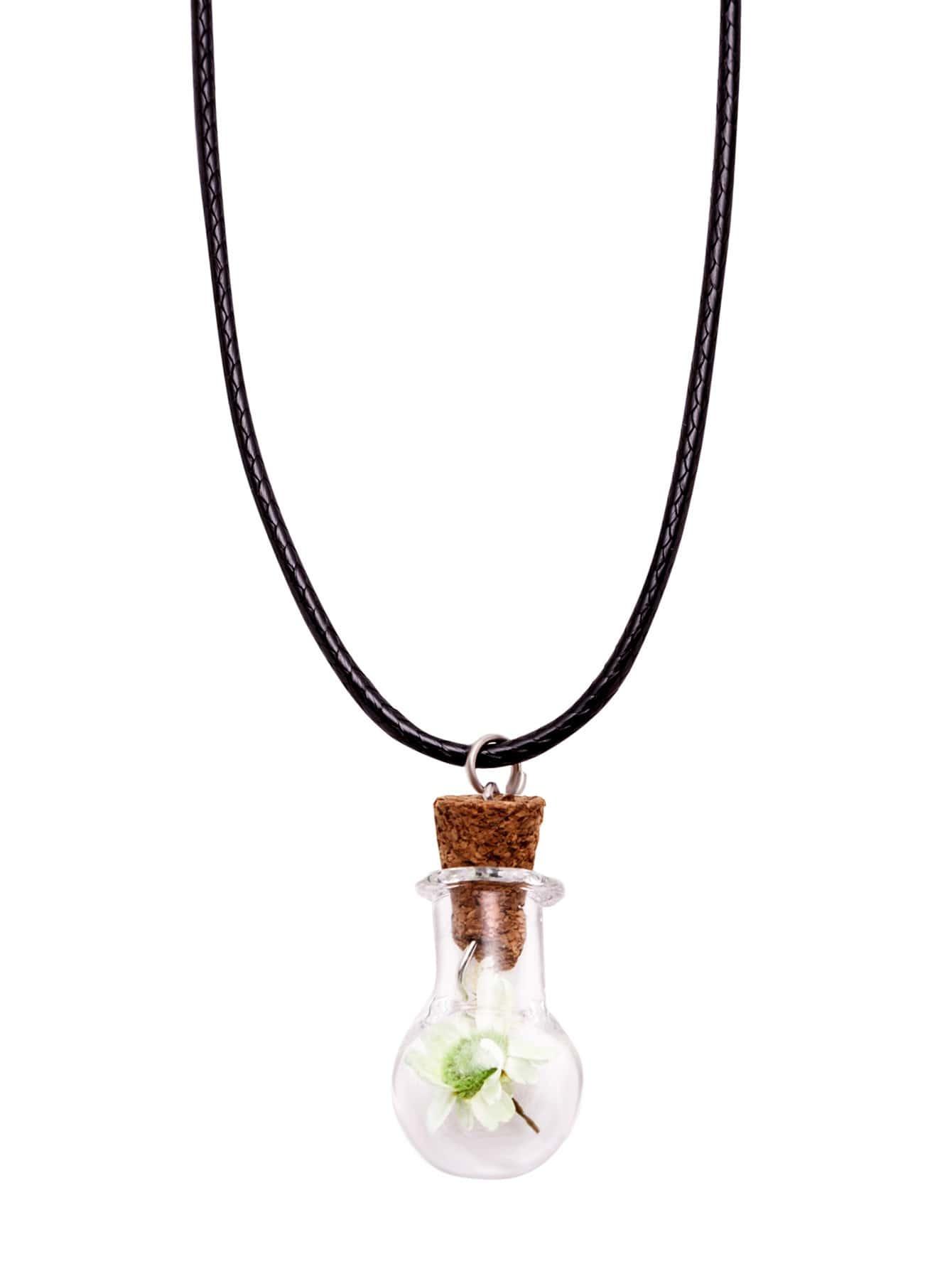Фото Flower Pendant Cute Necklace. Купить с доставкой