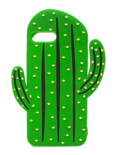 Green Cactus Shape iPhone 7plus Case