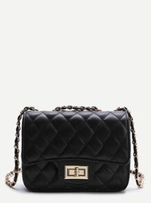 Nero Twist Lock Bag Crossbody
