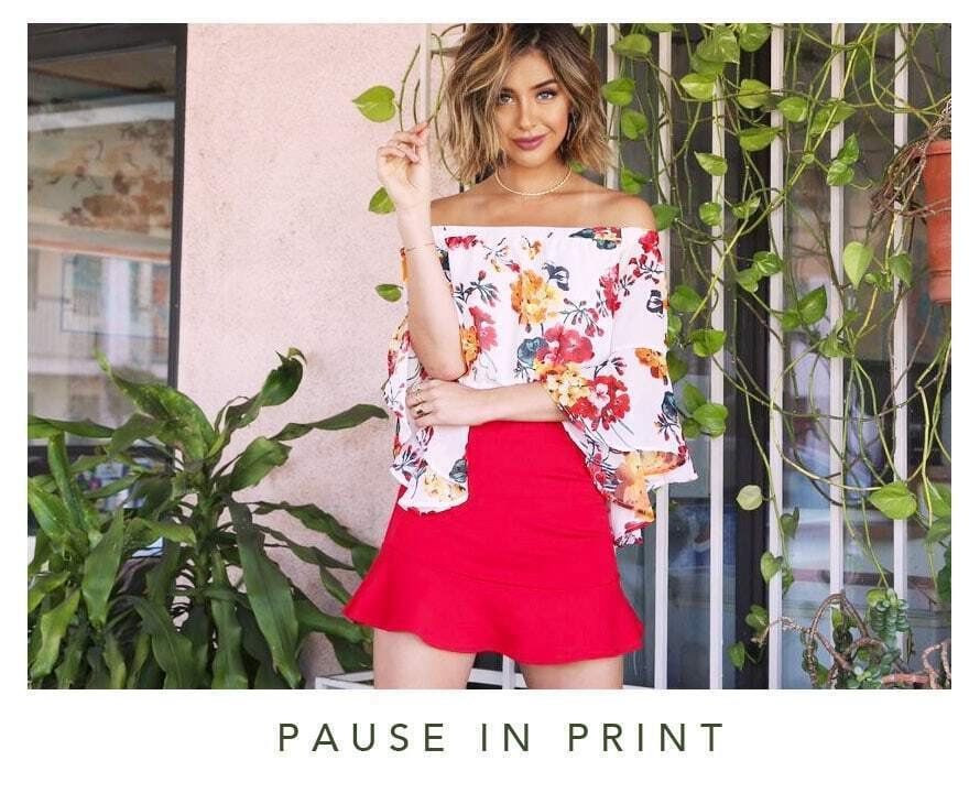 Pause in Print