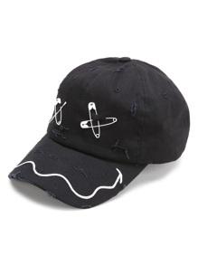 Black Pin Design Casquette de baseball
