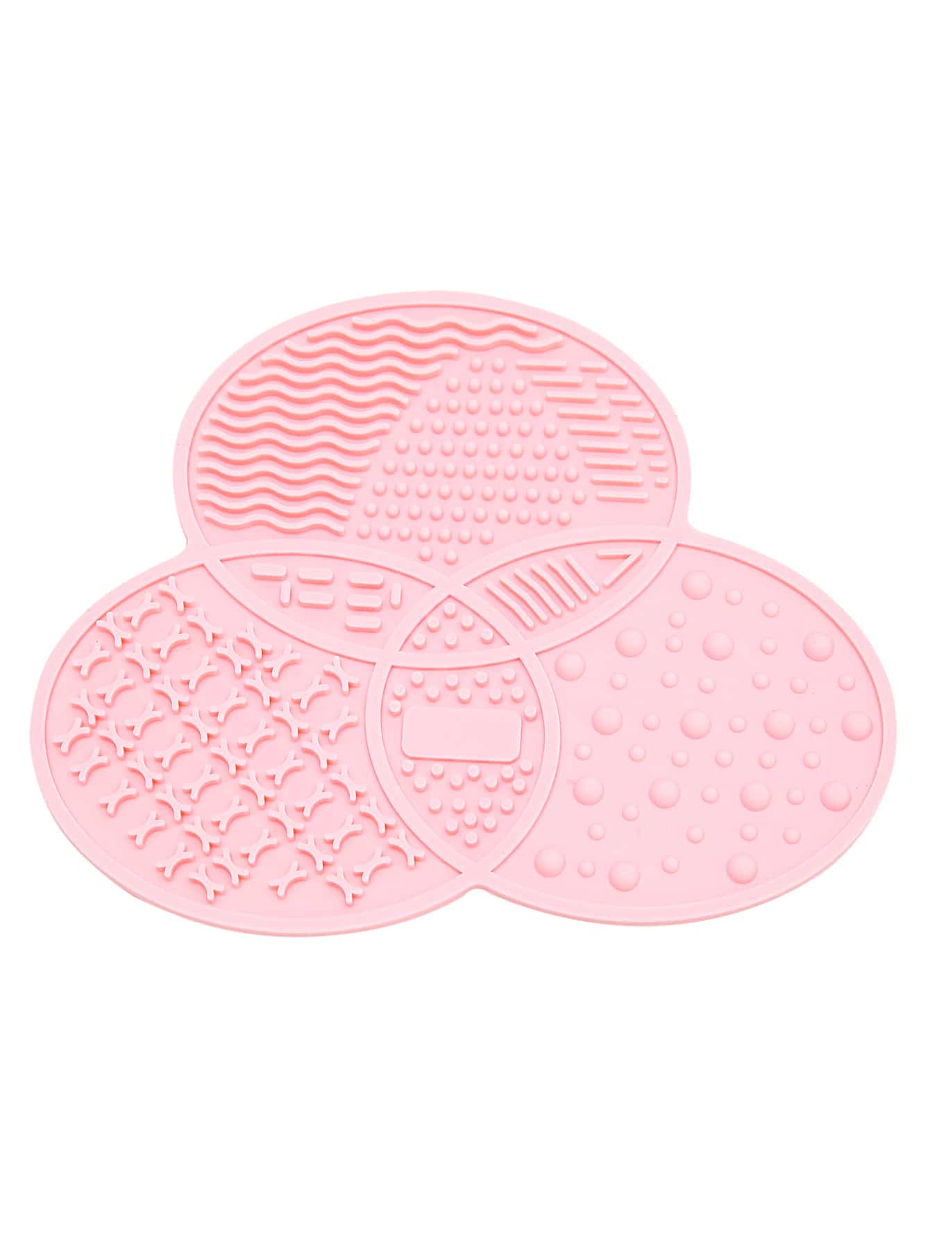Pink Asymmetrical Makeup Cleaner Plate dia 400mm 900w 120v 3m ntc 100k round tank silicone heater huge 3d printer build plate heated bed electric heating plate element