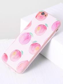 Pink Peach Print iPhone 6/6s Case