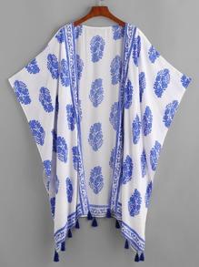 bat stile kimono con finiture in nappa