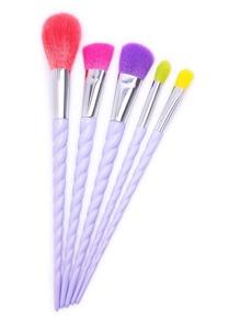 Brosse de Maquillage Professionnelle à Vis Set-5PCS
