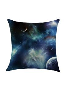 Funda de almohada con estampado de cielo estrellado