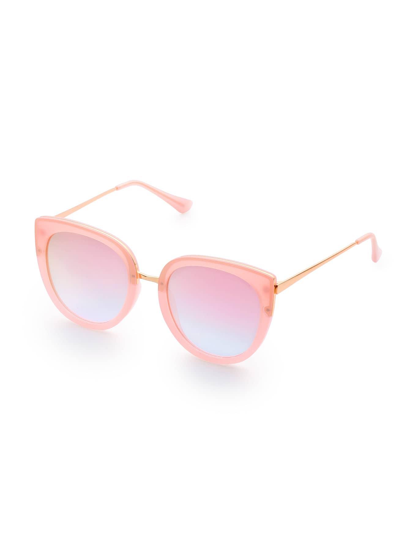 Фото Pink Frame Cat Eye Sunglasses. Купить с доставкой