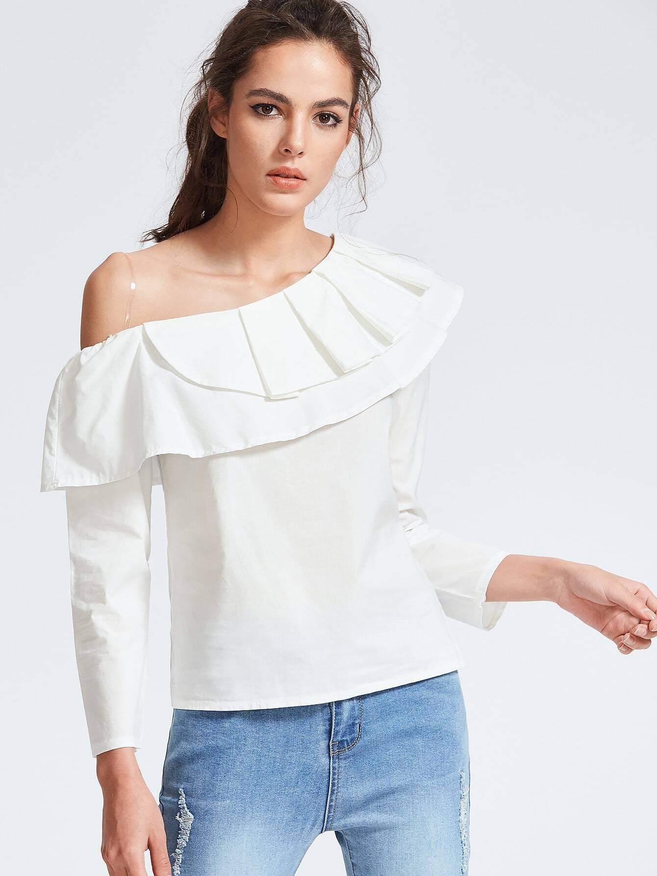 Белая Блузка Своими Руками
