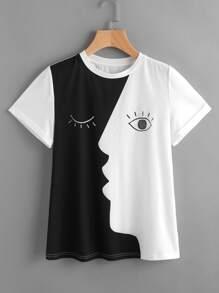 manches T-shirt d'impression laminés