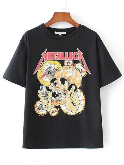 Camiseta con estampado