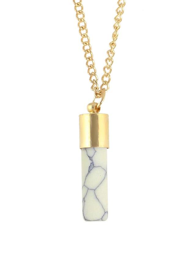 Фото Gold Imitation Turquoise Pendant Necklaces. Купить с доставкой