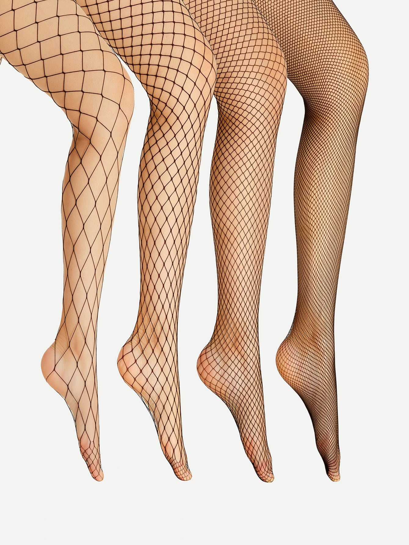 4pcs Sexy Fishnet Tight