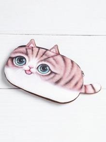 Monedero en forma de gato