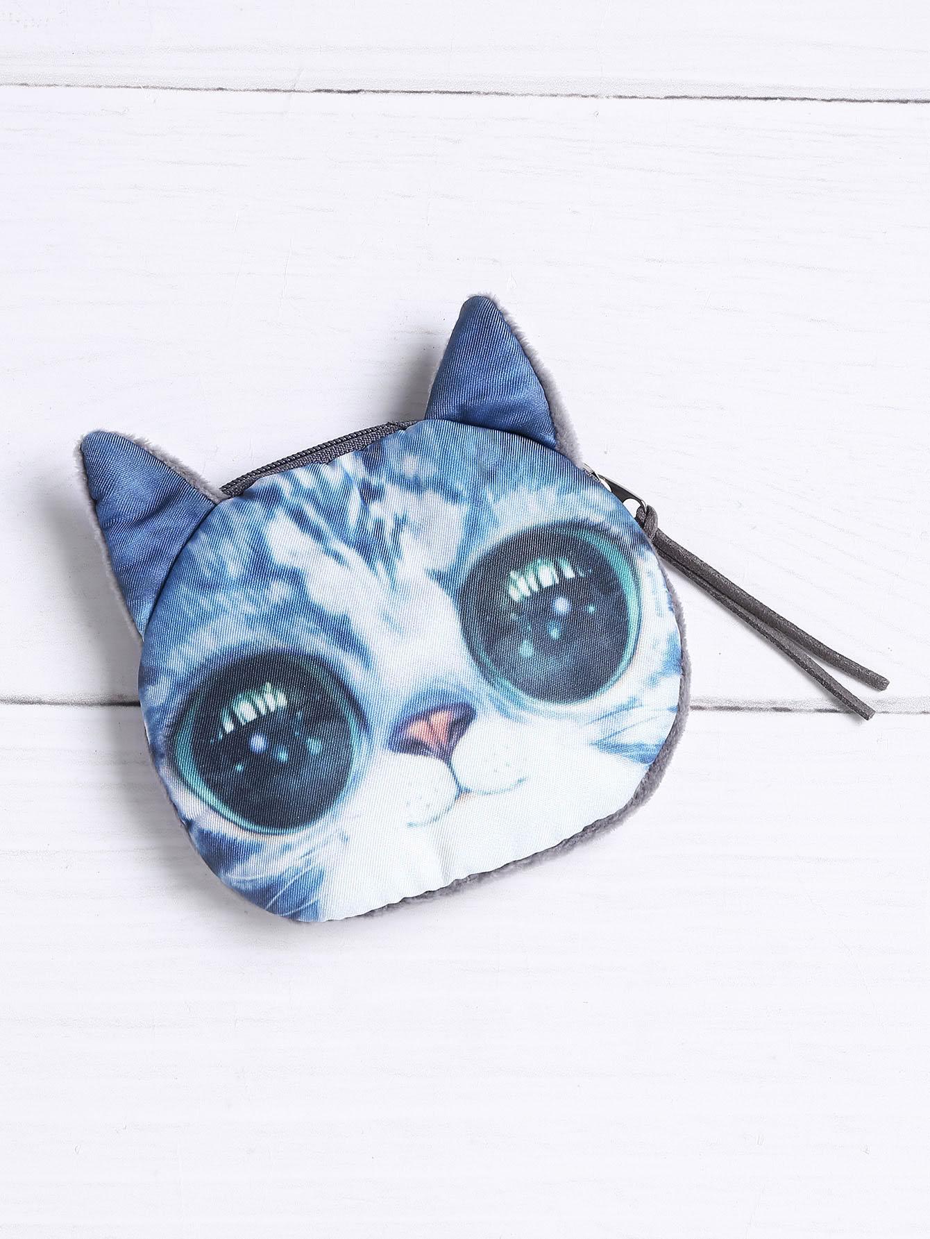 Фото Cat Shaped Coin Purse. Купить с доставкой