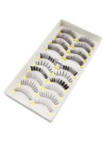 Multi Shaped False Eyelashes Set