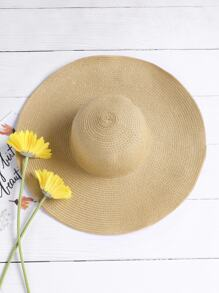 Beach Straw Floppy Hat
