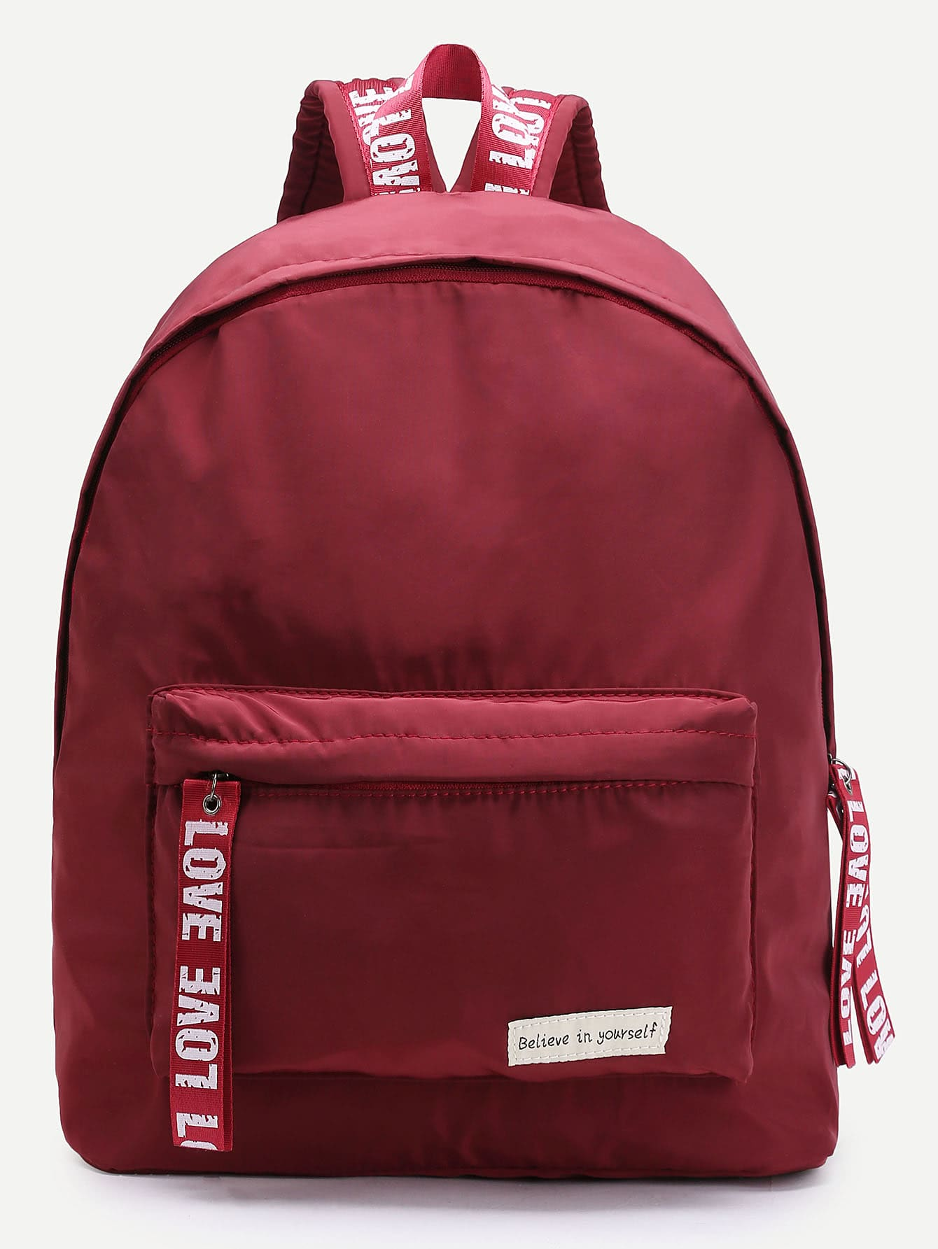 Graphic Print Bookbag