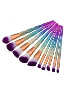 Pinceau professionnel Ombre Makeup 10pcs