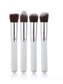 Metallic Detail Chunky Makeup Brush Set