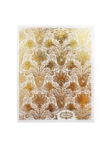Flower Pattern Nail Sticker
