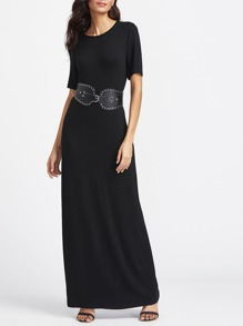 Short Sleeve Maxi Tee Dress