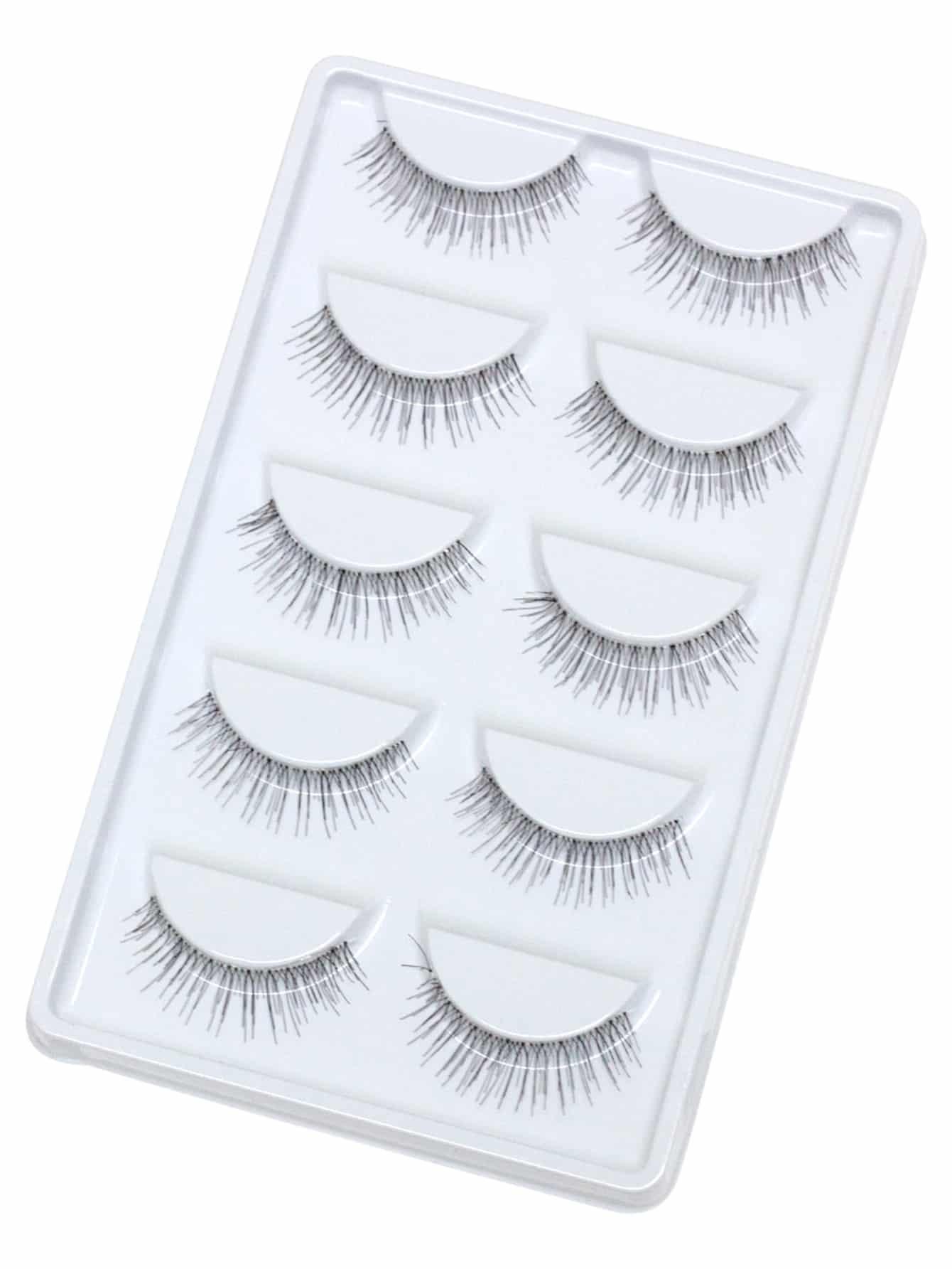 False Eyelashes 5 Pair beauty170410316