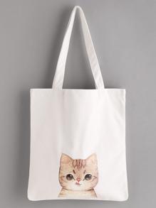 حقيبة طباعة القطة
