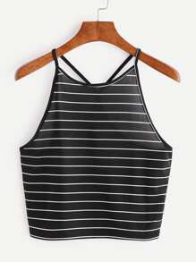 Striped Cami Top