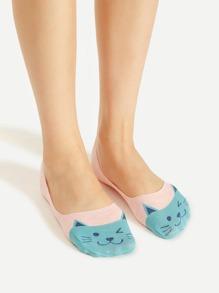 Chaussettes invisibles pour chat