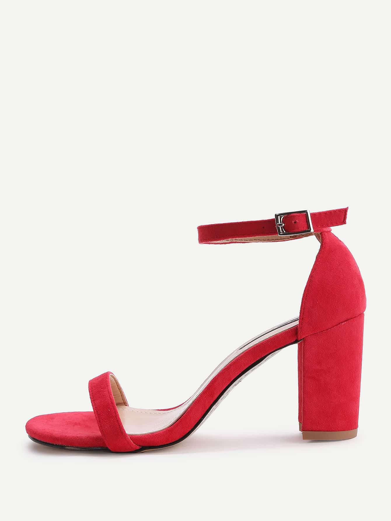Фото Two Part Block Heeled Sandals. Купить с доставкой