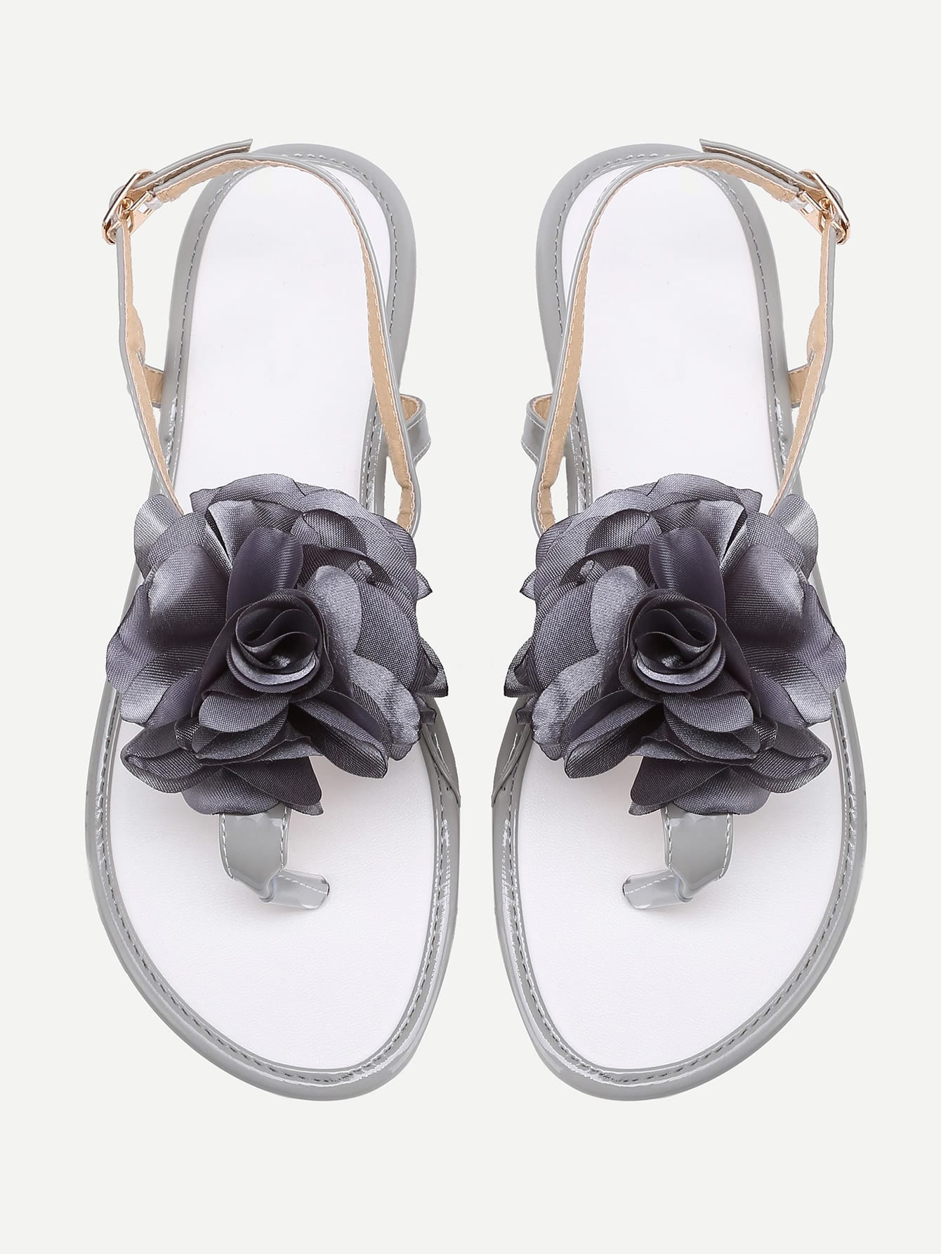 Flower Toe Post Sandals