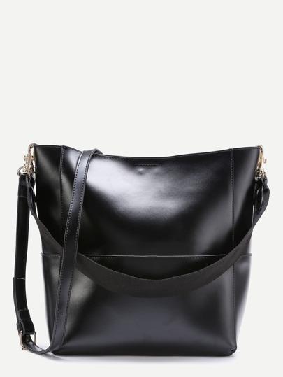 Double Strap Seam Hobo Bag