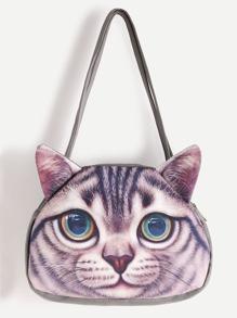 Cat Shaped Cute Shoulder Bag