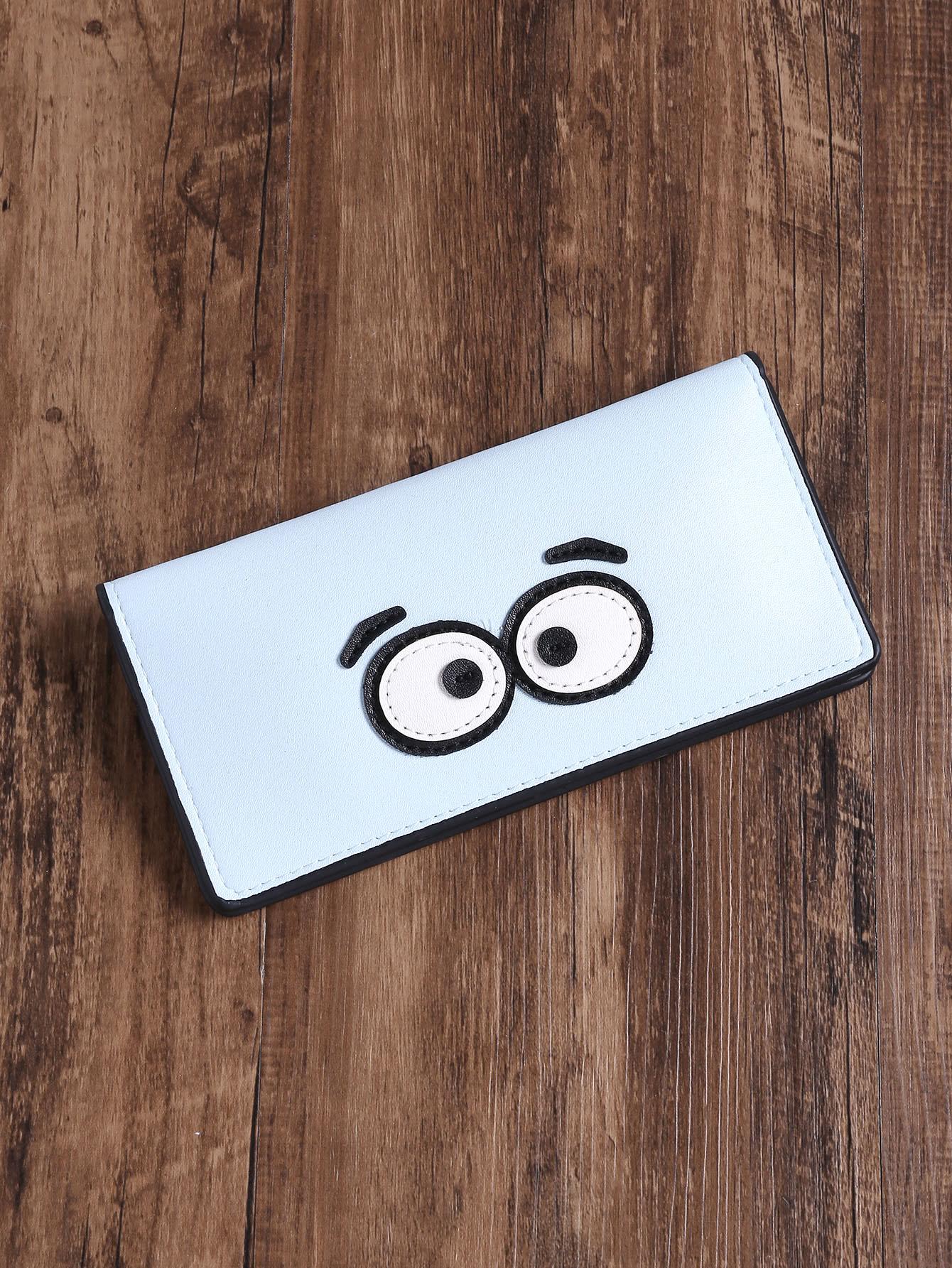 Фото Eye Patch Cute PU Wallet. Купить с доставкой