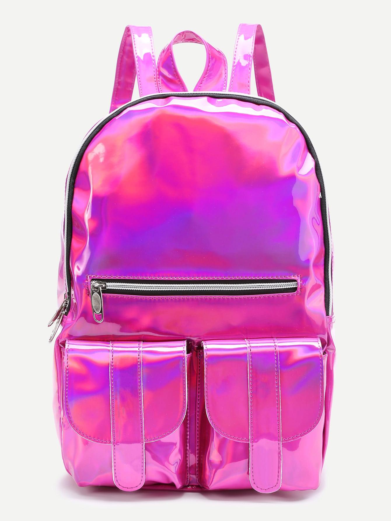 Фото Front Zipper And Pocket Backpack. Купить с доставкой