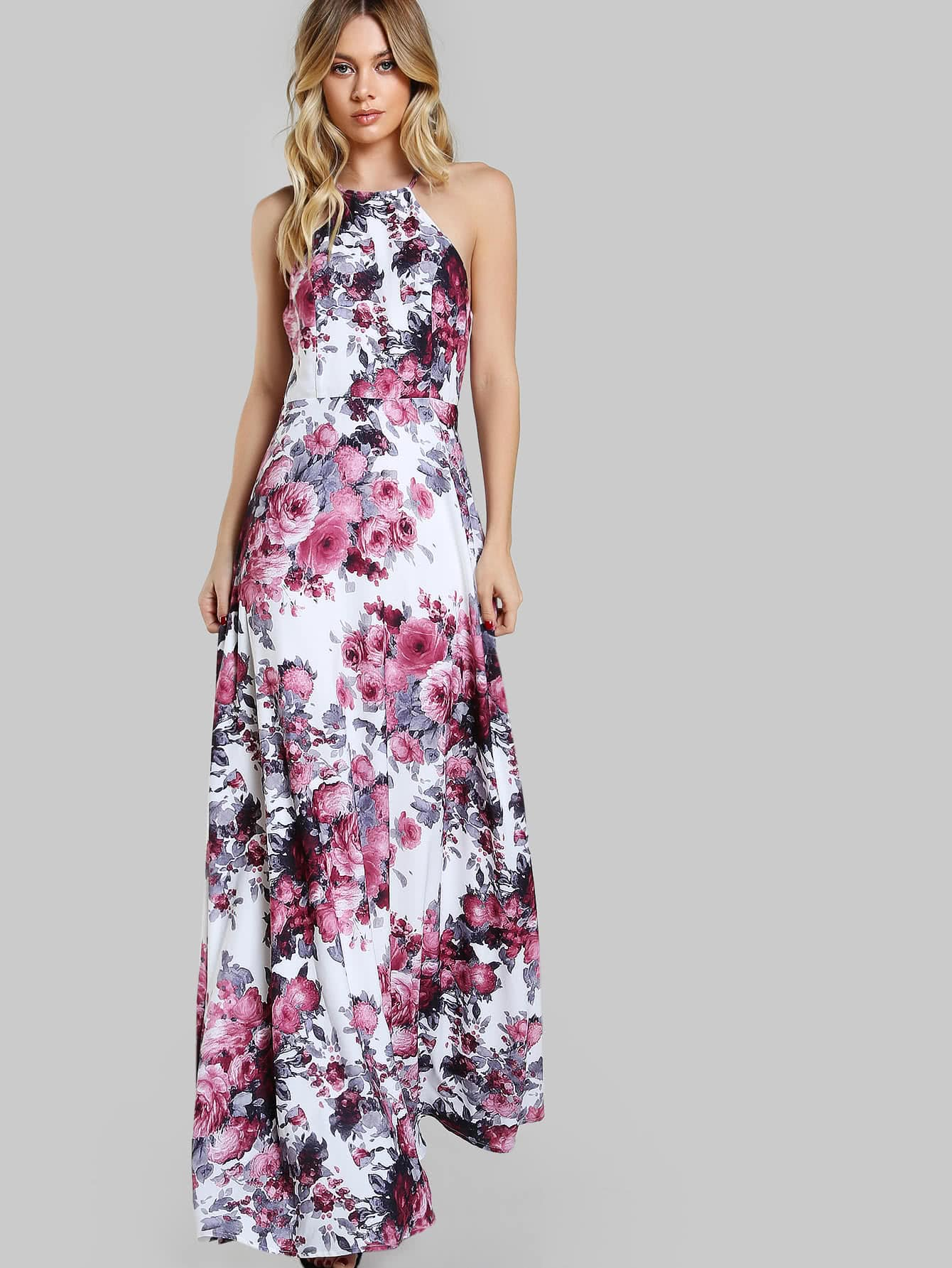Sensual and floral dress!Shein