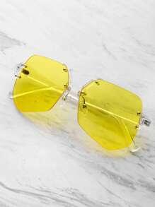 Clear Frame Contrast Lens Glasses