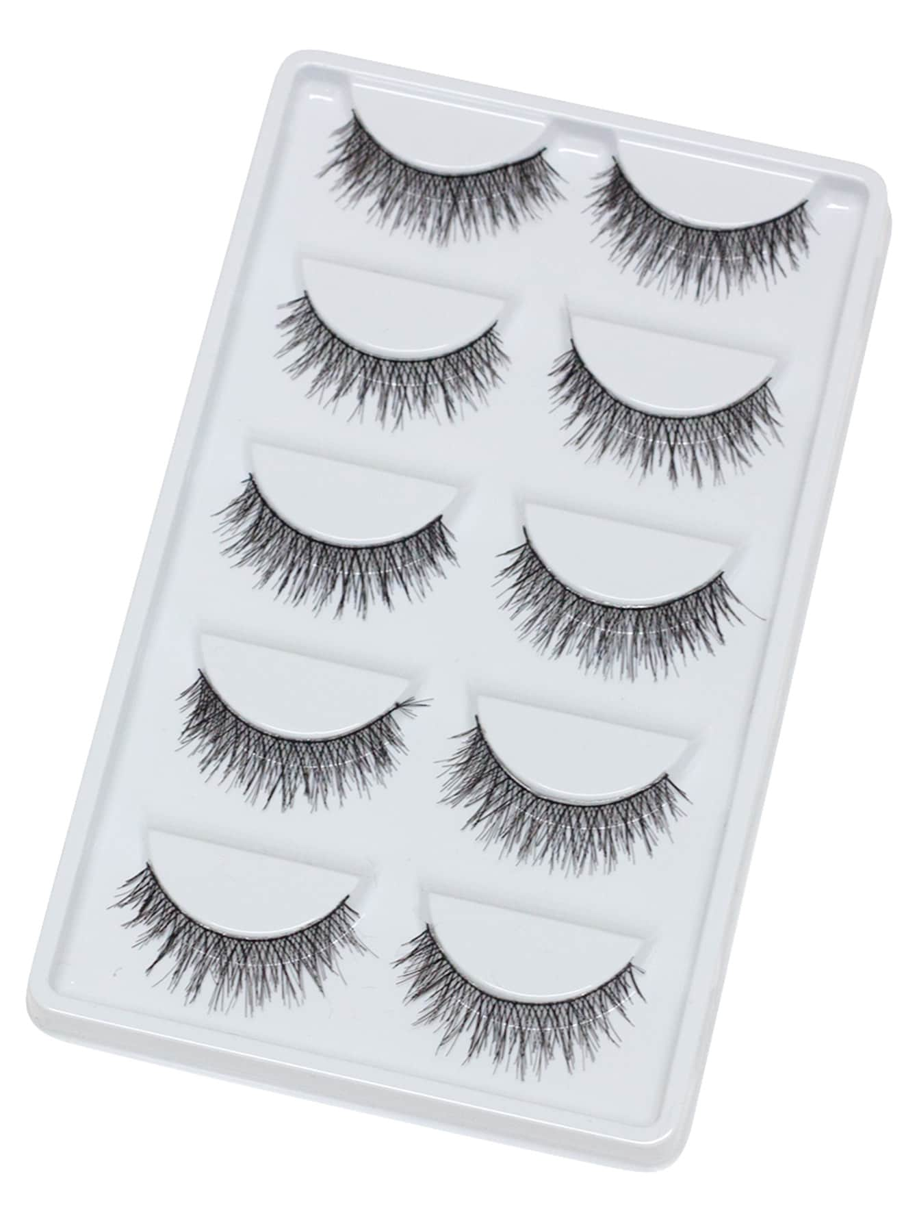 Thick False Eyelashes 5 Pair Apparel And Accessories Products