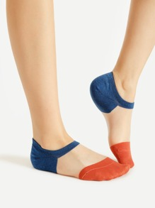 Calcetines en color block