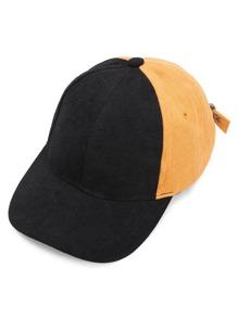 Cappello da baseball di blocco di colore