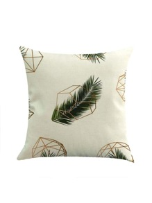 Graphic Print Pillowcase Cover