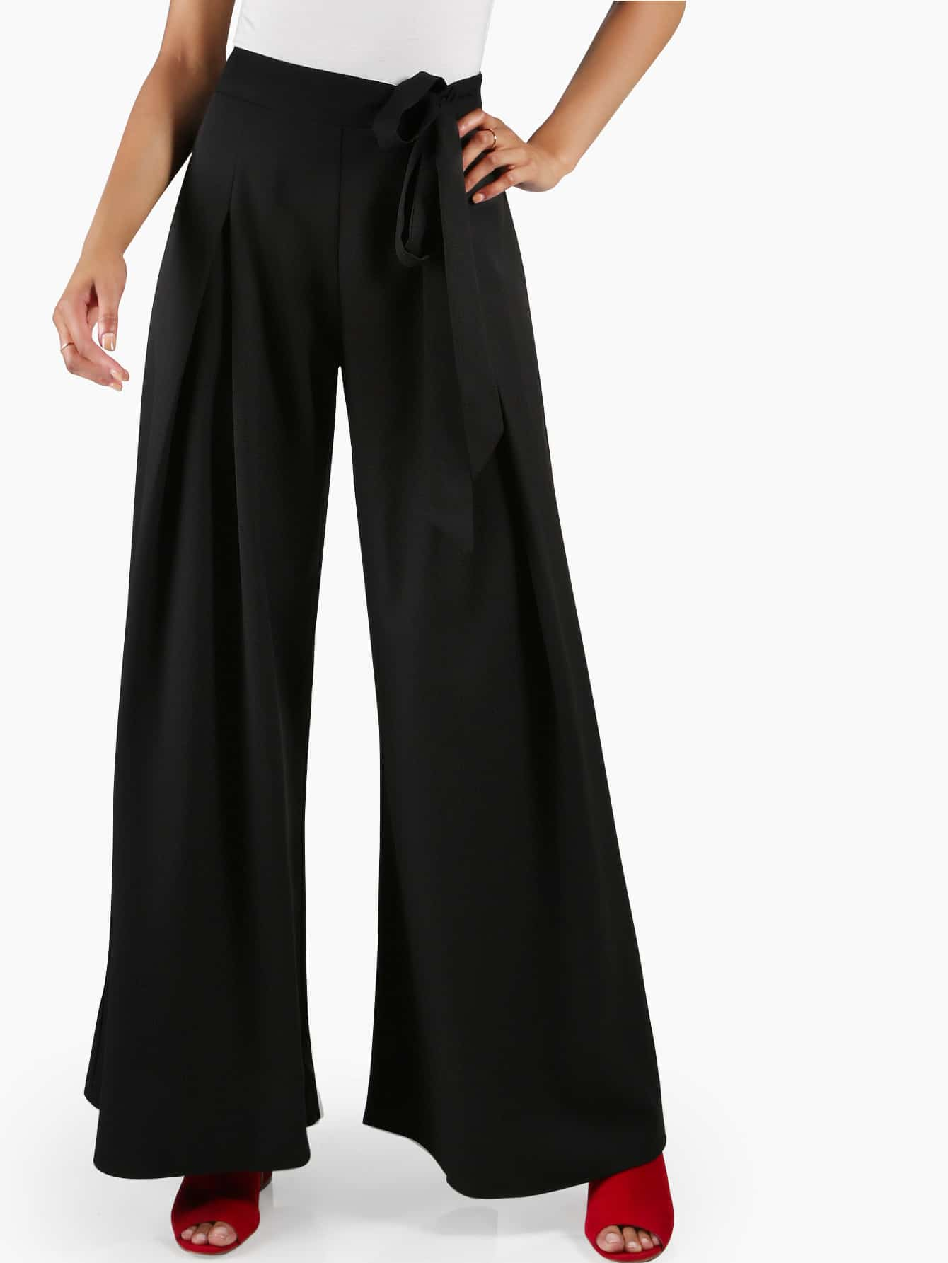 Wide Leg Dress Pants
