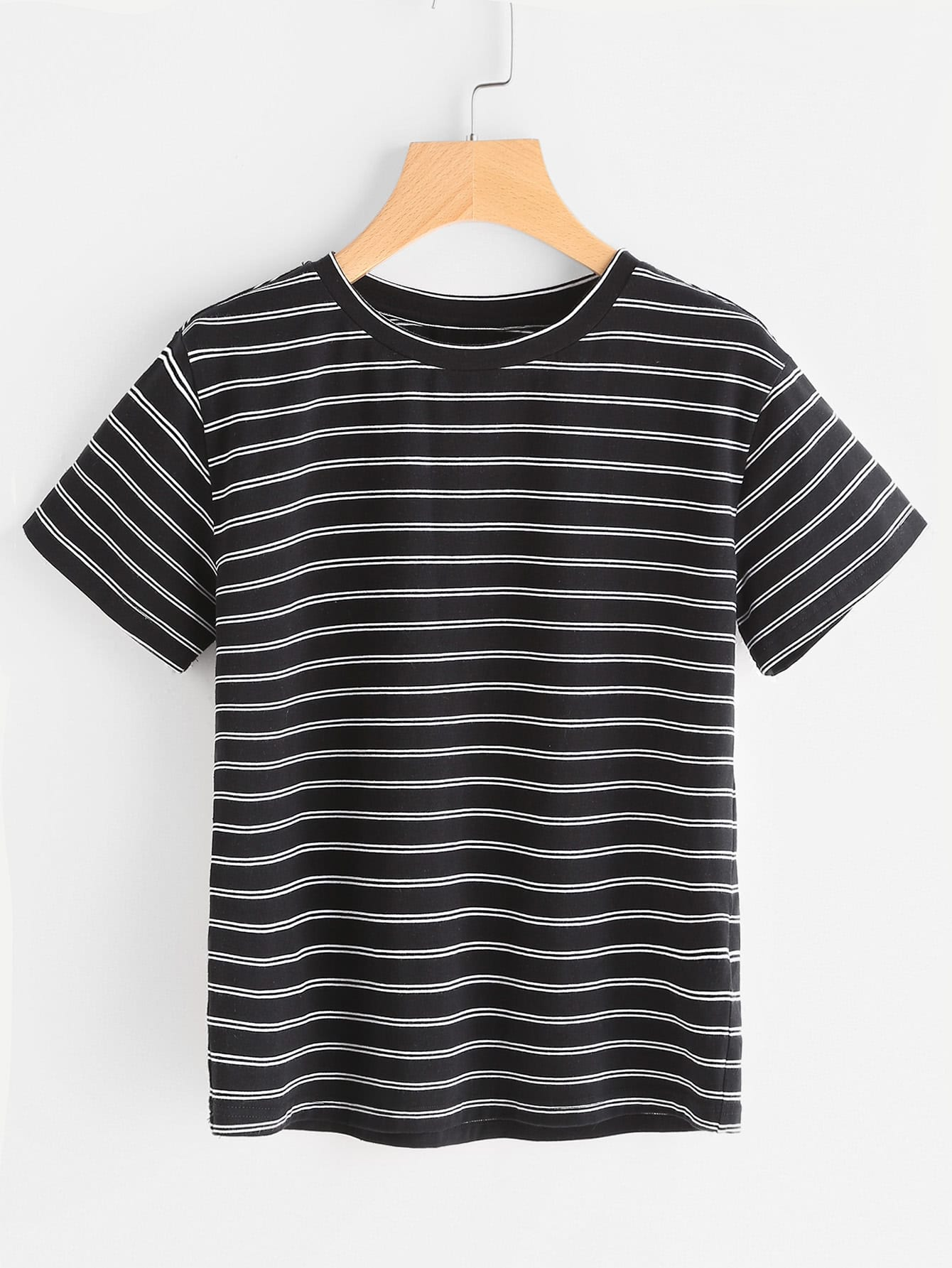 Фото Striped Short Sleeve T-shirt. Купить с доставкой