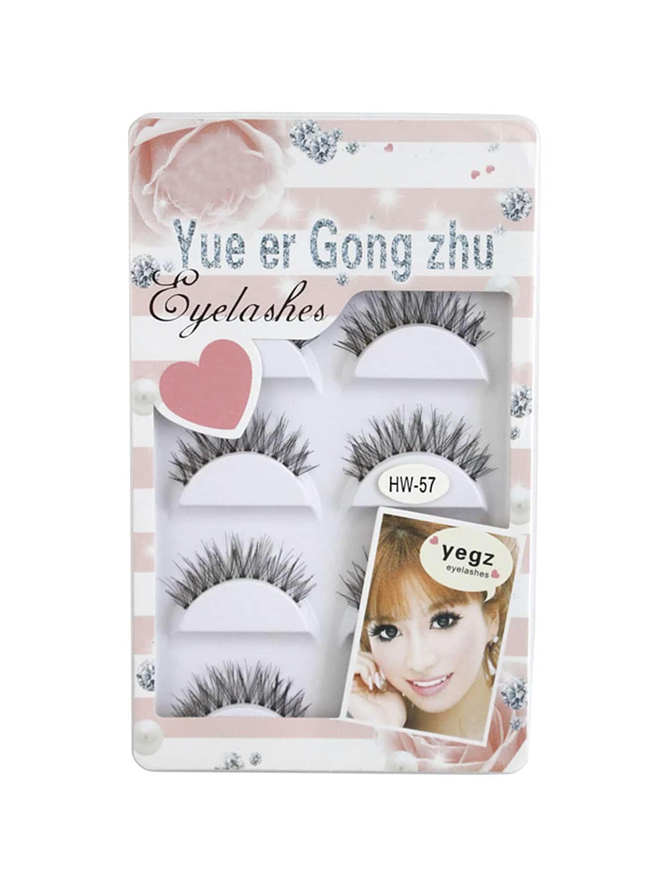 Фото Cute False Eyelashes Set. Купить с доставкой