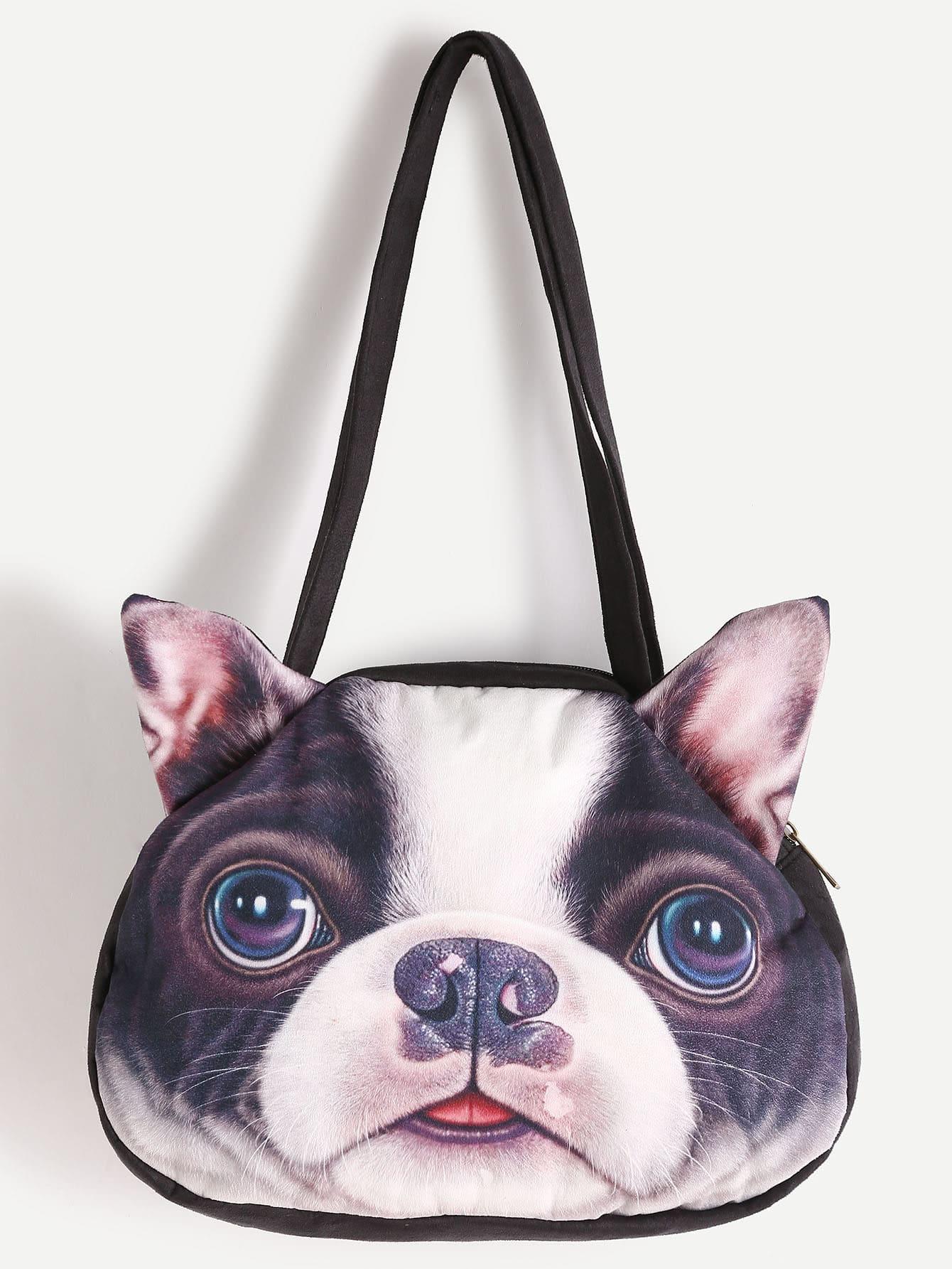 Фото Dog Shaped Shoulder Bag. Купить с доставкой