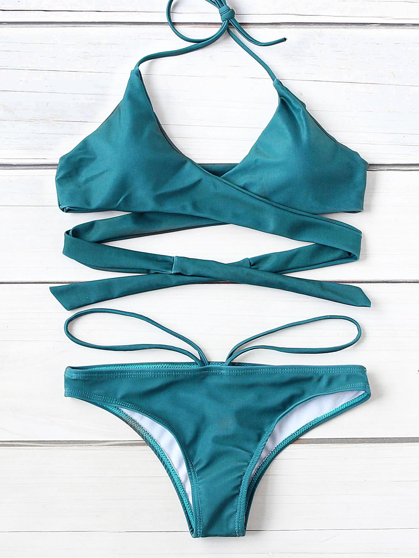 Фото Halter Design Wrap Bikini Set. Купить с доставкой
