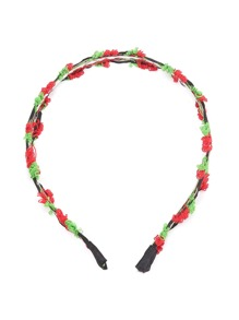 Calico Pattern Hairband